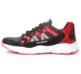 Купить Мужские кроссовки New Balance черные с красным (black/red)