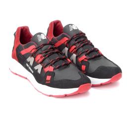 Купить Мужские кроссовки New Balance черные с красным (black/red) в Украине