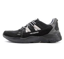 Купить Мужские кроссовки New Balance черные с серым