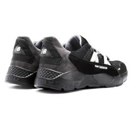 Купить Мужские кроссовки New Balance черные с серым в Украине