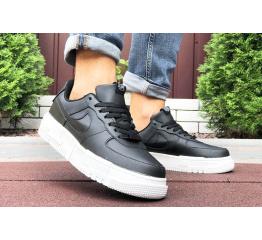 Купить Мужские кроссовки Nike Air Force 1 Pixel черные с белым в Украине