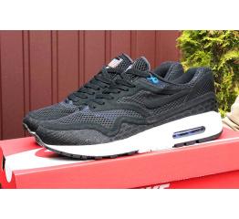 Купить Мужские кроссовки Nike Air Max 1 Breathe черные с белым