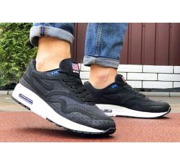 Купить Мужские кроссовки Nike Air Max 1 Breathe черные с белым в Украине