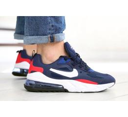 Купить Чоловічі кросівки Nike Air Max 270 React сині з білим