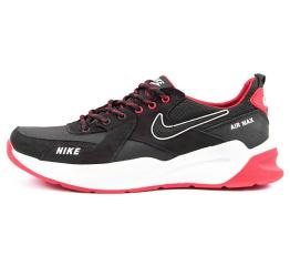 Купить Мужские кроссовки Nike Air Max черные с красным (black/red)