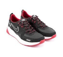 Купить Мужские кроссовки Nike Air Max черные с красным (black/red) в Украине