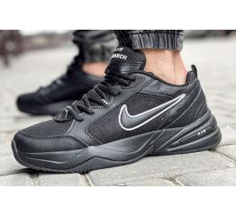 Купить Мужские кроссовки Nike Air Monarch IV black (черные)