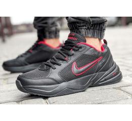 Купить Мужские кроссовки Nike Air Monarch IV black-red (черные с красным)