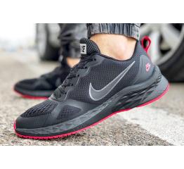 Купить Чоловічі кросівки Nike Air Zoom Winflo чорні з червоним в Украине