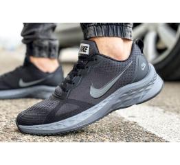 Купить Чоловічі кросівки Nike Air Zoom Winflo темно-сірі в Украине