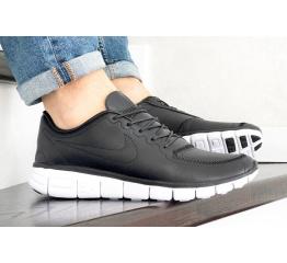 Купить Мужские кроссовки Nike Free 5.0 черные (black)