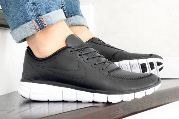 Мужские кроссовки Nike Free 5.0 черные (black)