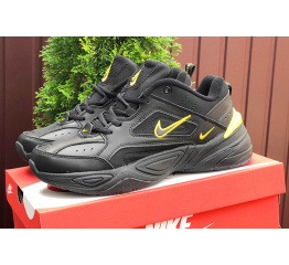 Купить Мужские кроссовки Nike M2K Tekno черные с желтым