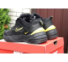 Купить Мужские кроссовки Nike M2K Tekno черные с желтым в Украине