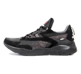 Купить Мужские кроссовки Puma черные с серым