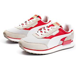 Купить Мужские кроссовки Puma Future Rider бежевые