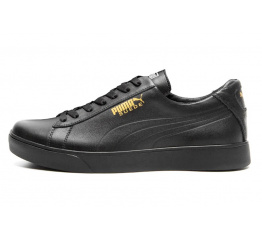 Купить Мужские кроссовки Puma Suede черные (black)