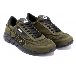 Купить Мужские кроссовки Puma зеленые в Украине