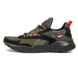 Купить Чоловічі кросівки Puma зелені з чорним
