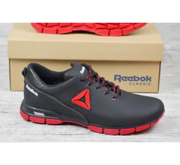 Купить Мужские кроссовки Reebok черные с красным