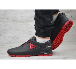 Купить Мужские кроссовки Reebok черные с красным в Украине