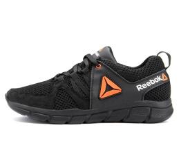 Купить Чоловічі кросівки Reebok чорні з помаранчевим
