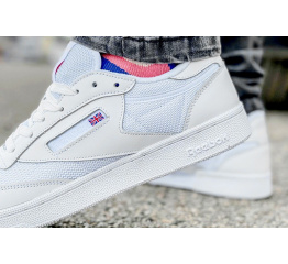 Купить Мужские кроссовки Reebok Club C 85 белые в Украине