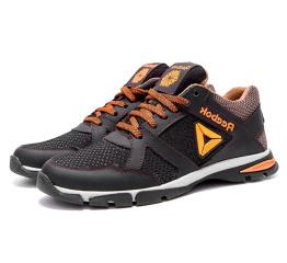 Мужские кроссовки Reebok темно-коричневые (dkbrown)