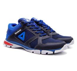 Мужские кроссовки Reebok темно-синие (dkblue)