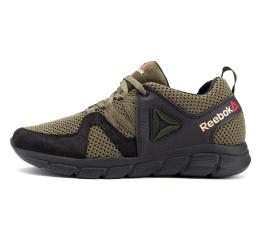 Купить Чоловічі кросівки Reebok зелені з чорним