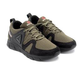 Купить Чоловічі кросівки Reebok зелені з чорним в Украине