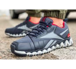 Купить Мужские кроссовки Reebok Zigwild TR темно-синие с красным