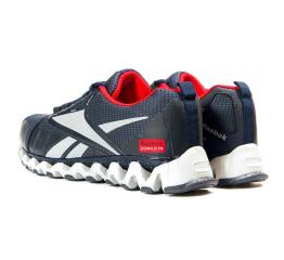 Купить Чоловічі кросівки Reebok Zigwild TR темно-сині з червоним в Украине