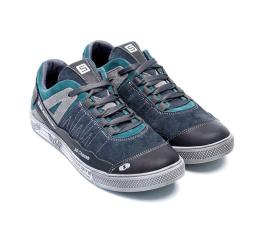 Купить Чоловічі кросівки Salomon сірі з зеленим в Украине