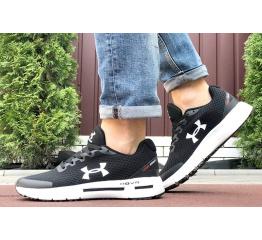 Купить Мужские кроссовки Under Armour HOVR черные с белым