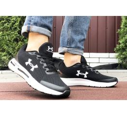 Купить Мужские кроссовки Under Armour HOVR черные с белым в Украине