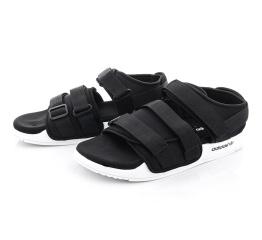 Купить Мужские сандалии Adidas Adilette 2.0 черные с белым