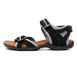 Купить Чоловічі сандалі Nike чорні з сірим