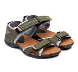 Купить Чоловічі сандалі Nike зелені з сірим в Украине