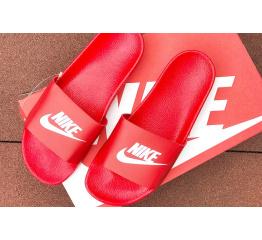 Купить Мужские шлепанцы Nike Air красные
