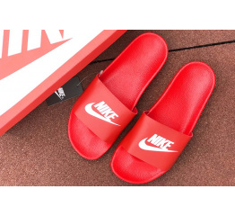 Купить Мужские шлепанцы Nike Air красные в Украине