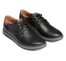 Купить Чоловічі туфлі Levi's чорні в Украине