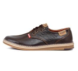 Купить Чоловічі туфлі Levi's коричневі