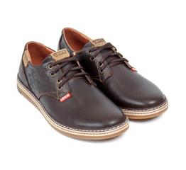 Купить Чоловічі туфлі Levi's коричневі в Украине