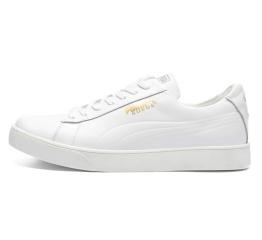 Купить Мужские кроссовки Puma Suede белые (white)