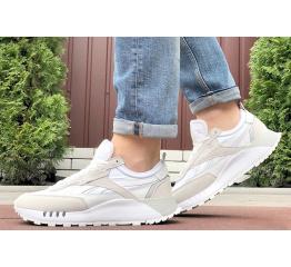 Купить Чоловічі кросівки Reebok Classic Leather Legacy білі з бежевим