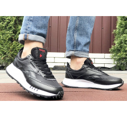 Мужские кроссовки Reebok Classic Leather Legacy черные с белым