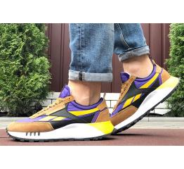 Мужские кроссовки Reebok Classic Leather Legacy коричневые с фиолетовым