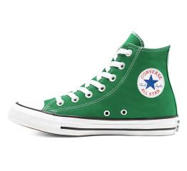 Купить Женские кеды Converse Chuck Taylor All Star High зеленые