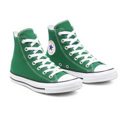 Купить Женские кеды Converse Chuck Taylor All Star High зеленые в Украине